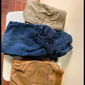 Lot of 4 pairs of Boys size 24 month pants